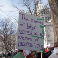 Enemies of labor unions are enemies of progress